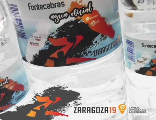FONTECABRAS CON «ZARAGOZA CAPITAL ESPAÑOLA DEL BALONCESTO 2019»