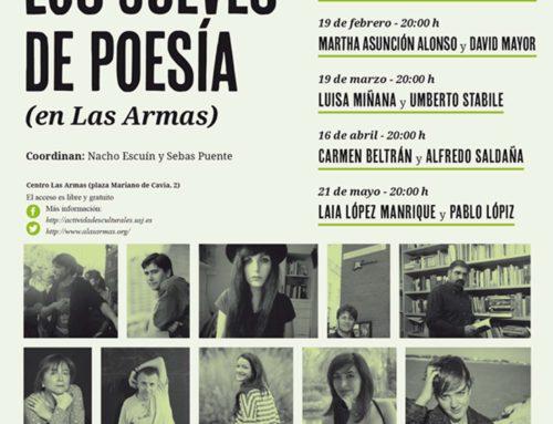 Presentación Los Jueves de Poesía en Las Armas