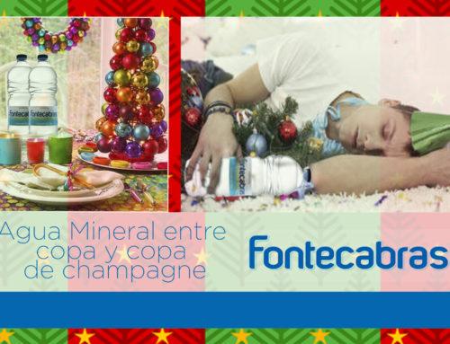 Agua Mineral, entre copa y copa de champagne